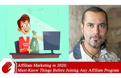 Must-Know Things Before Joining Any Affiliate Program in 2020