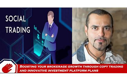 Copy trading and innovative investment platform plans