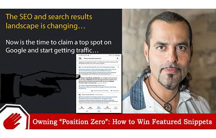 "Climbing up to ""Position Zero"": How to Win Featured Snippets"